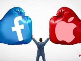 اپل و فیسبوک